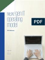 Next Generation It Operating Models by KPMG