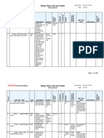 Setup Task Lists and Tasks