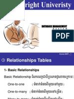 3- Database - Relationship