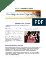 10 Basic Steps to  Write an Essay - Englishgoonline.com.pdf