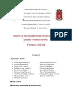 GRUPO 2 Historia - Proceso Historico Colonial