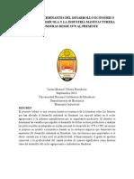 Análisis Del Sector Industrial en Honduras (PDF)