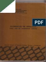 Elementos de Geologia - Para Uso de Ingenieros Civiles