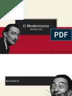 """Salvador Dalí e o Modernismo - Análise da pintura """"Sonho provocado pelo voo de uma abelha em torno de uma romã"""""""