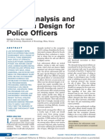 Needs Analysis and Program Design for Police Officers