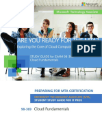MTA 98-369 Cloud Fundamentals - Study Guide