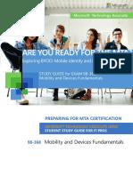 MTA 98-368 Mobile Fundamentals - Study Guide