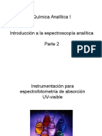 Quimica Analitica 1 - Espectroscopia Parte 2