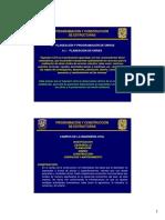 6.- Planeacion y Programacion