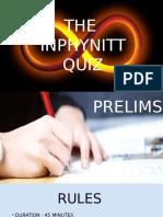 Quiz Prelims