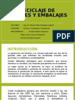 Reciclaje de Envases y Embalajes - Presentación Power Point
