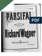 Wagner Parsifal Humperdinck 4hands