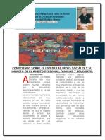 Articulo de Revista Astrid Tablas