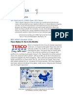 4. Tesco Case Study