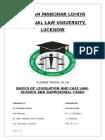 Basics of case law