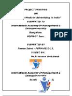Synopsis_innovative Media in Advertizing_Pawan Sahni_Apr 2010