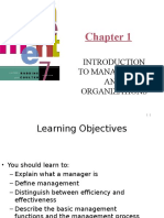 Robbins01 Introduction to Management