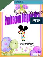 Evaluacion Diagnostica Primer Grado.doc