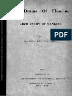 The Drama of Fluorine - Leo Spira Md 1953