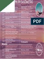 Programação Festival de Yoga - Usina do Gasômetro