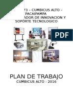 Plan de Trabajo Ie 14373 - Cumbicus