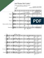 Piratas Del Caribe COMPLETO OFF - Score and Parts