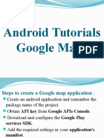 Android Tutorials - Google Maps API V2