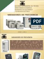 - T1 -Variadores de Frecuencia -Tecnologia
