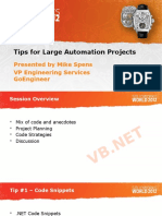 Tips and Strategies for Large Automation Projects