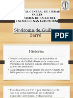 Síndrome de Guillan Barré
