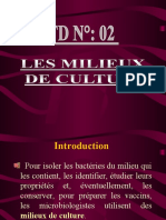 TD N° 2 microbiologie   2013