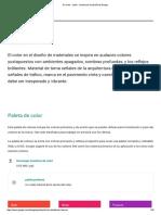 De Color - Estilo - Directrices de Diseño de Google