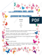 Guion teatral