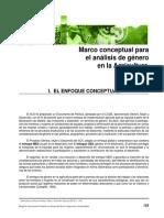 marco conceptual analisis de género en agricultura