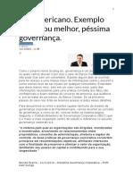 Caso PanAmericano Governança Corporativa