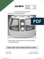 113313-1_slantfin GF220 Humidifier