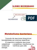 4. METABOLISMO BACTERIANO