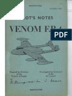De Havilland Sea Venom Flight Manual