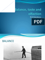 Lecture 7 NS_Balance, Taste and Olfaction