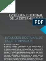 Evolucion Doctrinal de La Determinacion Contreras
