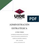 ADMINISTRACION ESTRATEGICA ADMON FINANCIERA, OBF