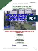 Guia de Practica de Laboratorio de Farmacologia - 2016-II