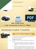 Tasación de La Propiedad Planta y Equipos