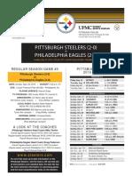 Pittsburgh Steelers At Philadelphia Eagles (Sept. 25)