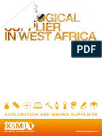X&M Geological supply catalogue (Exploration and Mining Suppliers)