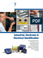 Cable, wire, asset identification & electronic component identification