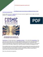 31-08-2016-Divulgation Cosmique-Validation de l'Histoire Du Programme Spatial Secret-A-LIRE