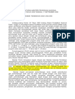 Permendiknas No.58 Th 2009 Standar PAUD