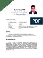 Curriculum Vitae Rodolfo