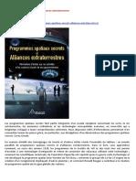 18-09-2016-Livre-En-Francais-Programmes Spatiaux Secrets et Alliances Extraterrestres-A-LIRE